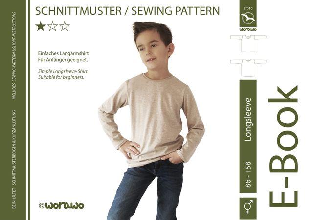 Produktfoto von worawo zum Nähen für Schnittmuster Longsleeve Kinder