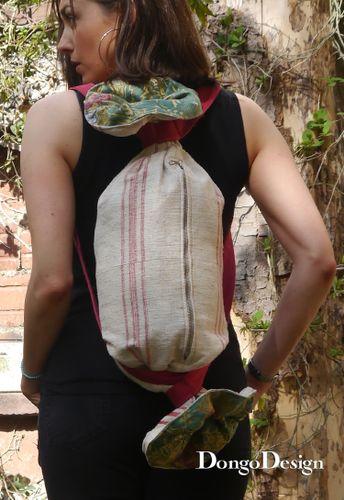 Produktfoto von DongoDesign zum Nähen für Schnittmuster Bonbon Tasche