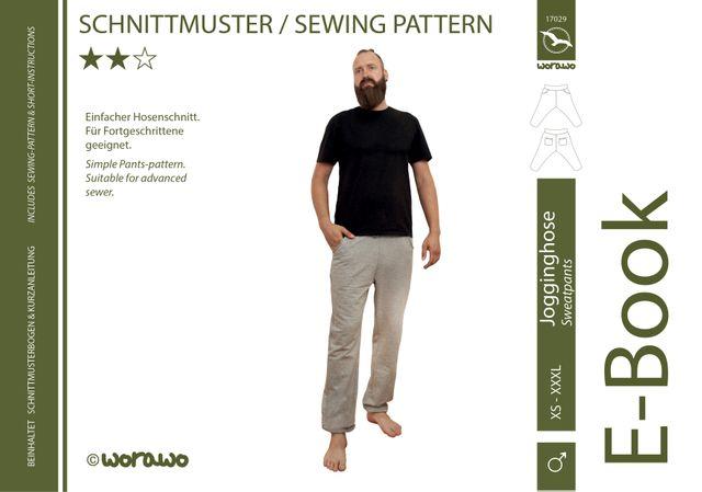Produktfoto von worawo zum Nähen für Schnittmuster Jogginghose Herren