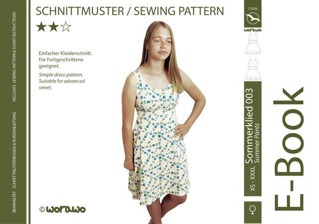 Produktfoto von worawo zum Nähen für Schnittmuster Sommerkleid Damen 003