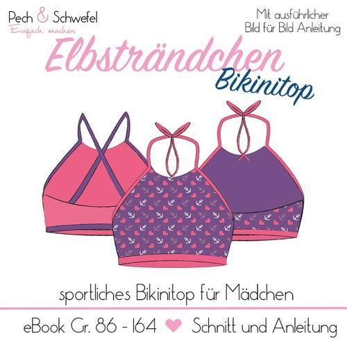 Produktfoto von Pech & Schwefel zum Nähen für Schnittmuster Elbsträndchen Bikinitop
