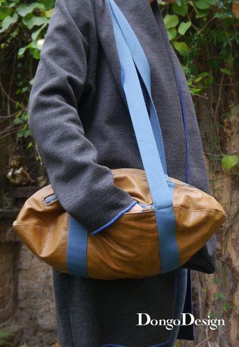 Produktfoto von DongoDesign zum Nähen für Schnittmuster Football Tasche