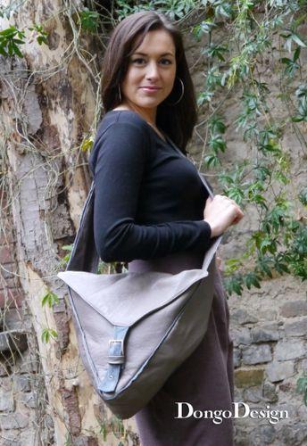 Produktfoto von DongoDesign zum Nähen für Schnittmuster Tasche Triangolo