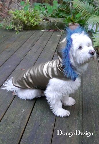Produktfoto von DongoDesign zum Nähen für Schnittmuster Hundemantel Chanell für Coco