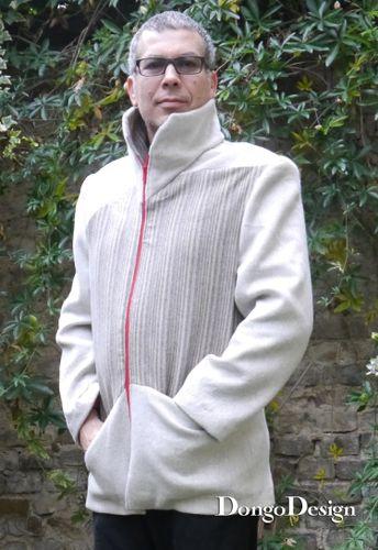 Produktfoto von DongoDesign für Schnittmuster Jacke Geometrie