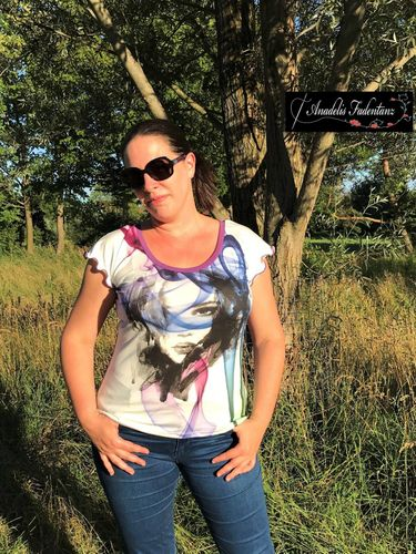 Produktfoto von Mamilu Design zum Nähen für Schnittmuster Shirt Cool Summer Lady