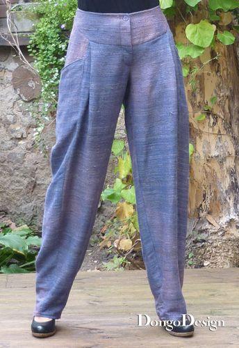 Produktfoto von DongoDesign zum Nähen für Schnittmuster Hose Lisa