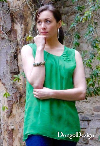 Produktfoto von DongoDesign zum Nähen für Schnittmuster Bluse Marina
