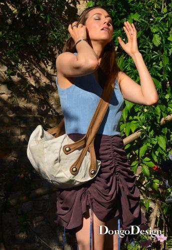 Produktfoto von DongoDesign zum Nähen für Schnittmuster Tasche Die Barke