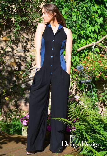 Produktfoto von DongoDesign zum Nähen für Schnittmuster Jumpsuit Jenny