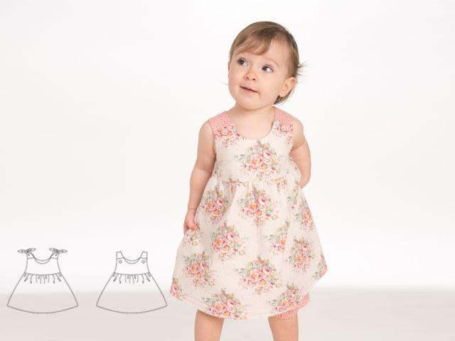 Produktfoto von Pattern 4 kids zum Nähen für Schnittmuster Clara