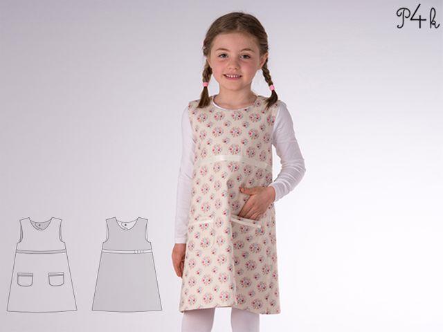 Produktfoto von Pattern 4 kids zum Nähen für Schnittmuster Elena