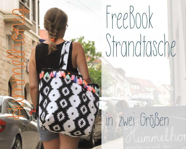 Produktfoto von Hummelhonig zum Nähen für Schnittmuster Strandtasche
