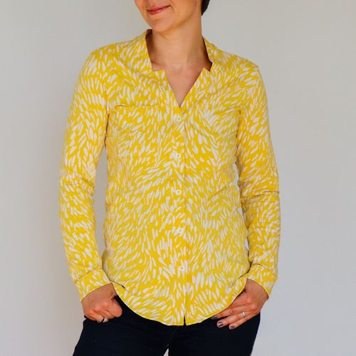 Produktfoto von B-Patterns zum Nähen für Schnittmuster Jerseybluse Umeko_B