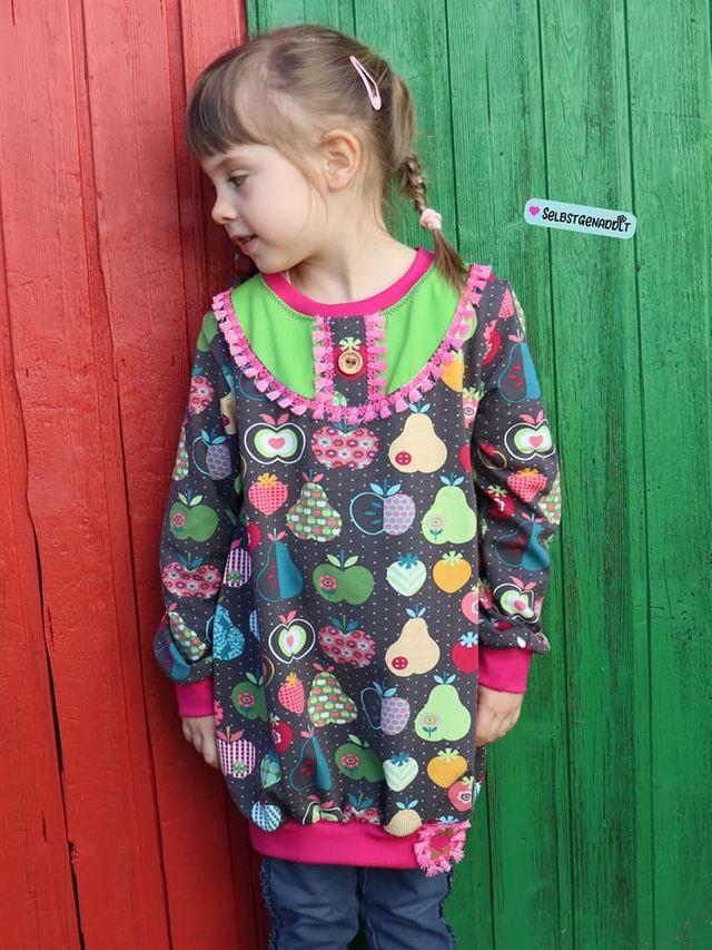 Produktfoto von Miou Miou zum Nähen für Schnittmuster Ballontunika Girl's Summer
