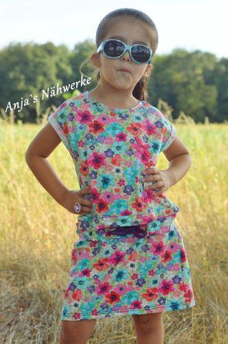 Produktfoto von 73engelchen zum Nähen für Schnittmuster Kids Summer Girl