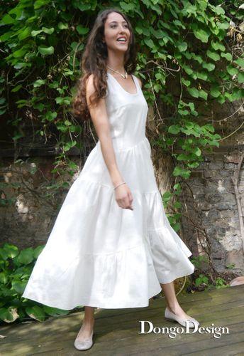 Produktfoto von DongoDesign zum Nähen für Schnittmuster Sommerkleid Cadiz