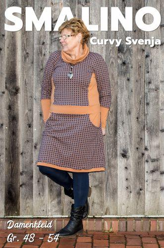 Produktfoto von Smalino zum Nähen für Schnittmuster Damenkleid Curvy Svenja