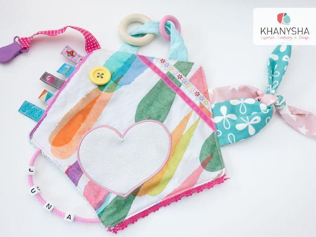 Produktfoto von Khanysha für Schnittmuster Spieltuch Grabschi