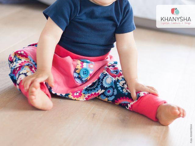 Produktfoto von Khanysha zum Nähen für Schnittmuster Pumphose Hanna