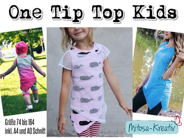 Produktfoto von MiToSa-Kreativ zum Nähen für Schnittmuster One Tip Top Kids