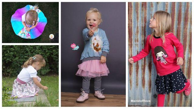 Produktfoto von Engelinchen für Schnittmuster Drehrock Josie