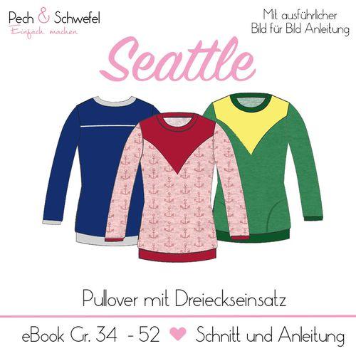 Produktfoto von Pech & Schwefel zum Nähen für Schnittmuster Pullover Seattle