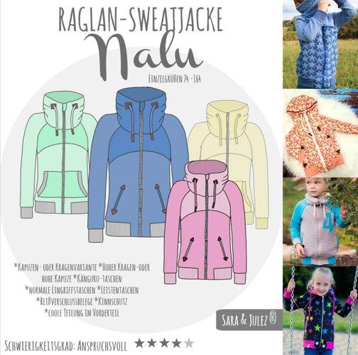 Produktfoto von Sara & Julez zum Nähen für Schnittmuster Nalu