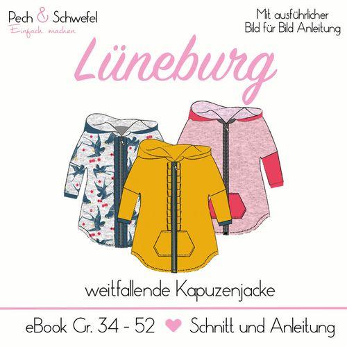 Produktfoto von Pech & Schwefel zum Nähen für Schnittmuster Kapuzenjacke Lüneburg