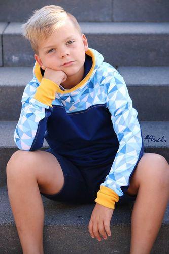 Produktfoto von Meine Herzenswelt zum Nähen für Schnittmuster Sweatjacke/Hoodie Teens - Dein Paco