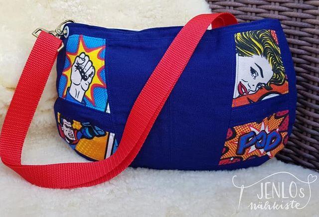 Produktfoto von NähDings zum Nähen für Schnittmuster Kleine Damenhandtasche Exjö