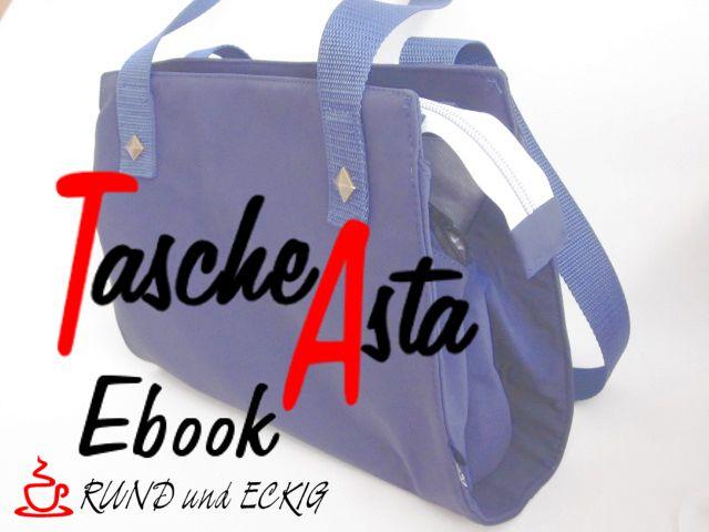 Produktfoto von RUND und ECKIG zum Nähen für Schnittmuster Tasche Asta
