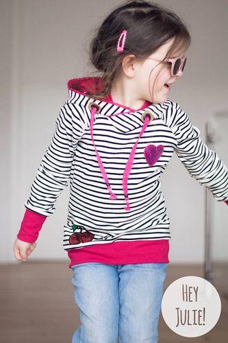 Produktfoto von Laneli zum Nähen für Schnittmuster Pullover/Kleid #Eve Kids