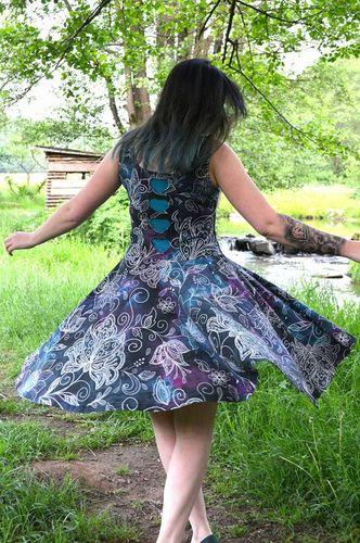 Produktfoto von My Little Ladybird zum Nähen für Schnittmuster Jerseykleid Miss Marisa