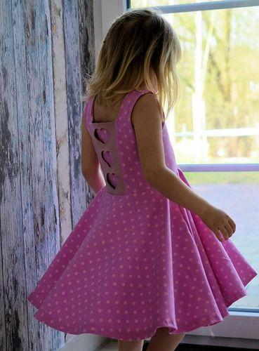 Produktfoto von My Little Ladybird zum Nähen für Schnittmuster Jerseykleid Marisa