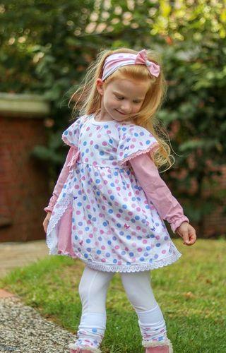 Produktfoto von Mini & Me Selfmade für Schnittmuster Kleid Gretchen