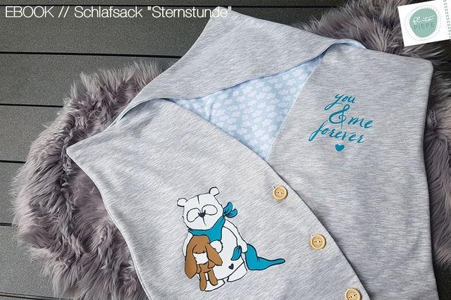 """Produktfoto von FlitzPiepe für Schnittmuster Schlafsack """"Sternstunde"""""""