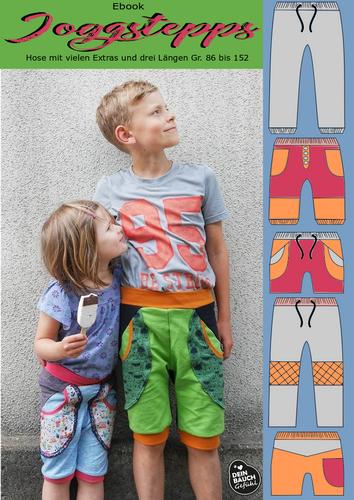 Produktfoto von Rosalieb & Wildblau zum Nähen für Schnittmuster Joggstepps
