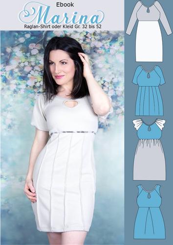 Produktfoto von Rosalieb & Wildblau zum Nähen für Schnittmuster Marina