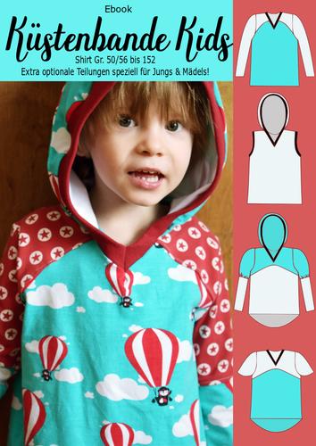 Produktfoto von Rosalieb & Wildblau zum Nähen für Schnittmuster Küstenbande Kids