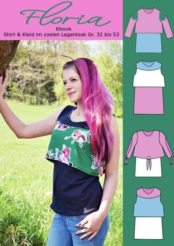 Produktfoto von Rosalieb & Wildblau zum Nähen für Schnittmuster Sommertop Floria
