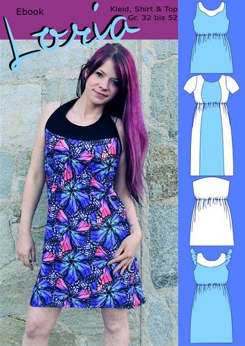 Produktfoto von Rosalieb & Wildblau zum Nähen für Schnittmuster Loria