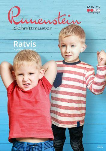 Produktfoto von Runenstein zum Nähen für Schnittmuster Ratvis 86-116