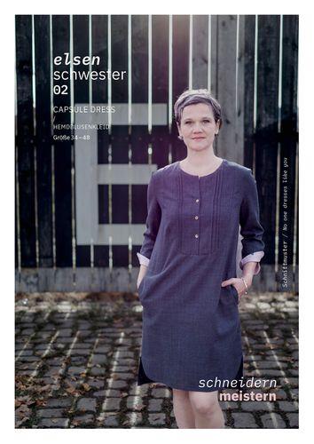 Produktfoto von schneidernmeistern zum Nähen für Schnittmuster Elsenschwester 02
