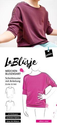 Produktfoto von pedilu zum Nähen für Schnittmuster LaBlüsje
