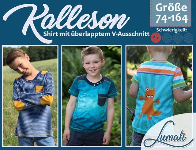 Produktfoto von Lumali zum Nähen für Schnittmuster Kalleson