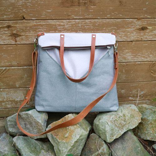 Produktfoto von 11-lein zum Nähen für Schnittmuster Tasche Mona