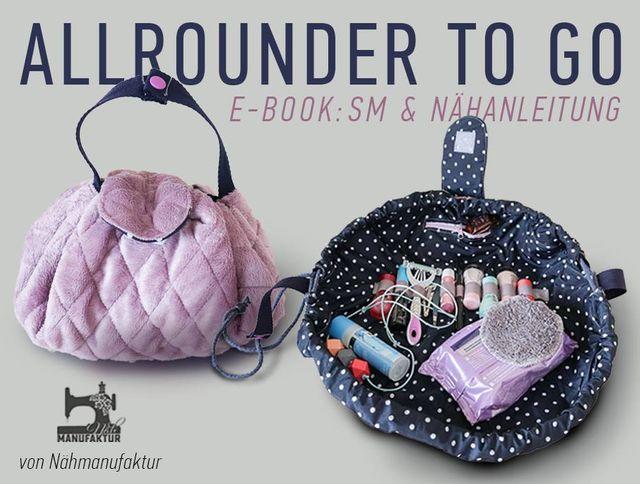 Produktfoto von Näh-Manufaktur zum Nähen für Schnittmuster Allrounder to go
