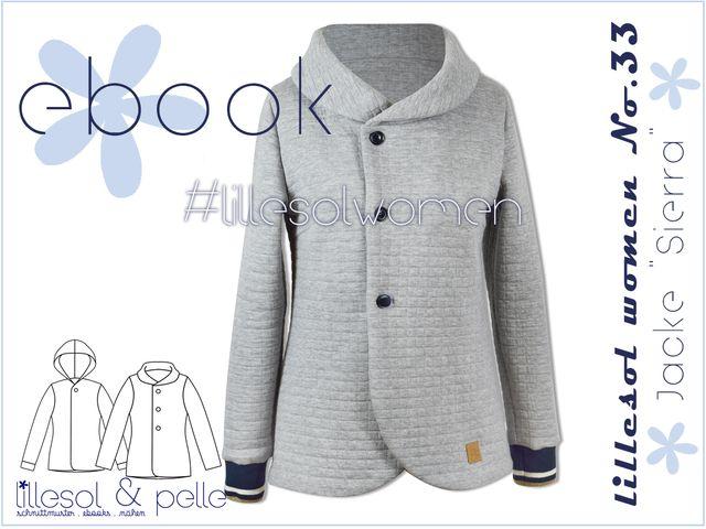 Produktfoto von Lillesol & Pelle zum Nähen für Schnittmuster Lillesol women No.33 Jacke Sierra