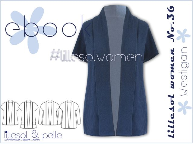 Produktfoto von Lillesol & Pelle zum Nähen für Schnittmuster Lillesol women No.37 Westigan
